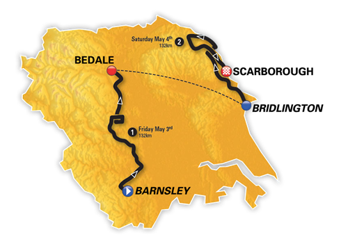 Tour De Yorkshire 2019 Routes Announced In Leeds Tour De Yorkshire 30 April 3 May 2020