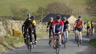 'Ilkley into the Dales' road cycle tour