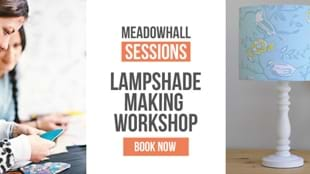 Drum Lampshade Making Workshop at Meadowhall, Sheffield