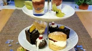 Festive Lunch and Afternoon Tea at The Olive Tree Bistro at Totties
