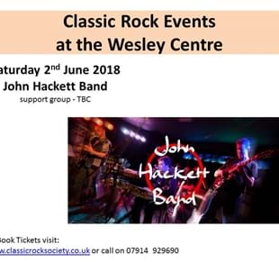 Classic Rock Society present The John Hackett Band