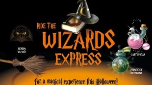 The Wizard's Express for Halloween - Keighley and Worth Valley Railway