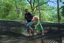 Let your little monkeys go wild in the woods at Treetop Nets Ripon