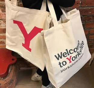 Get your Y tote bag