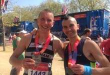 Marathon success for Fitness Supervisor Terry