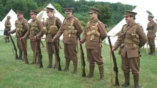 First World War living history event