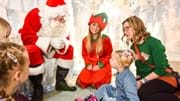 Meet Santa at Eureka! and experience Night Lights festive show
