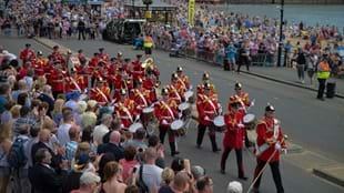 The Yorkshire Military Band: Armed Forces Day 2016