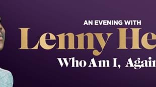 An evening with Lenny Henry