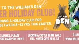 The William's Den Easter Holiday Club - Copy