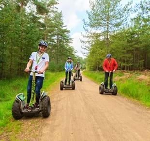 Go Ape Forest Segway