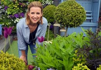 Katie Rushworth at Tong Garden Centre
