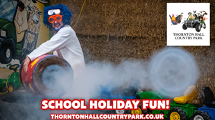 School Holiday Fun SCIENCE SHOWS at Thornton Hall Country Park