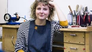 Meet the Maker event with jeweller Amy Stringer