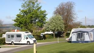 Richmond Hargill House Caravan Club Site - CAMC