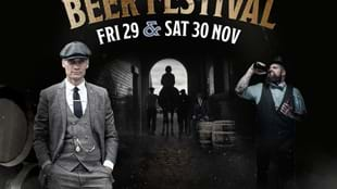 The Cheaky Blinders Beer Festival Race Day