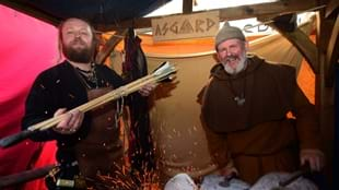 Viking Encampment at JORVIK Viking Festival