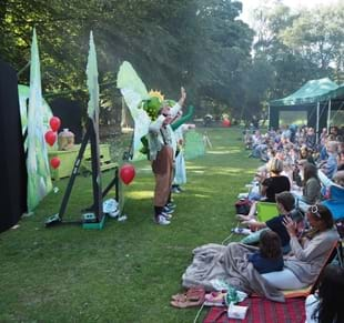 Middleton Lodge - Open Air Theatre -Dog's Don't do Ballet