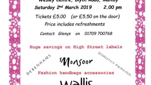 Maltby Minors Fashion Show