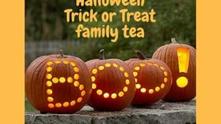 Halloween Trick or Treat Family Tea