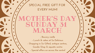 Mother's Day at Skirlaugh Garden & Aquatic Centre