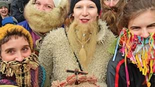 Annual Best Beard Competition at JORVIK Viking Festival