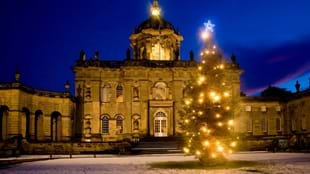 Christmas Twlight Opening at Castle Howard