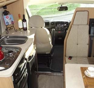 Luxury  Motorhomes  Luxury Campervan Hire For UK Amp Europe  Sprout Motorhomes