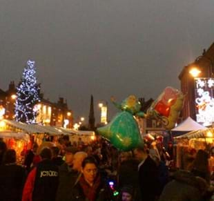 Selby Christmas Lights Switch On and Christmas Market