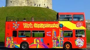 York Citysightseeing, open top sightseeing bus tour