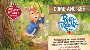 Peter Rabbit Visits The Broadway