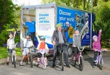 Synergy breaks 200 target in community bike collection campaign