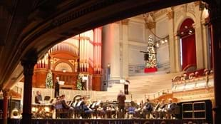 Kirklees Concert Season: Huddersfield Town Hall Lunchtime Brass Band Christmas Spectacular