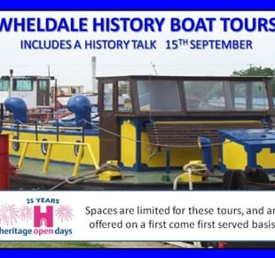 Wheldale History Boat Tours (A Heritage Open Days Event)