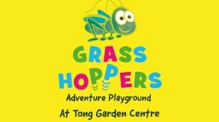 Grass Hoppers at Tong Garden Centre