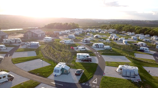 Waleswood Caravan and Camping Park at Rother Valley Country Park