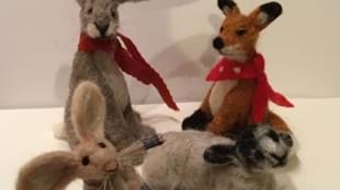 Make a 3D Animal needle Felted Sculpture