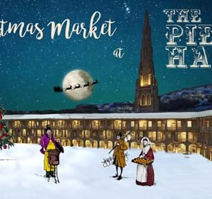 Christmas Market at The Piece Hall