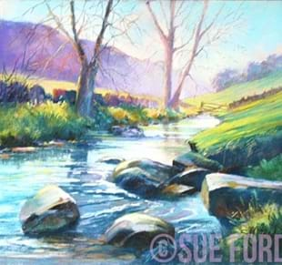 Sue Ford Multi Media Painting