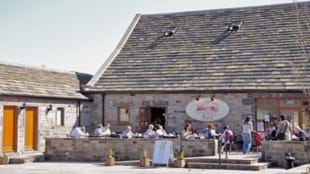 The Barn Cafe at Blacker Hall Farm