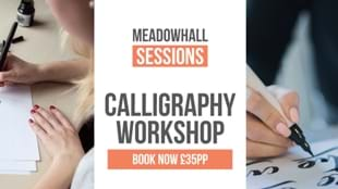 Calligraphy Chalkboard Workshop at Meadowhall