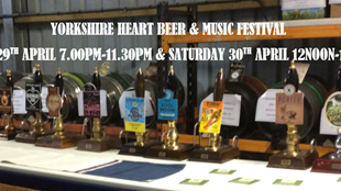The Yorkshire Heart Beer & Music Festival