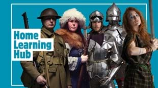 Home Learning Hub with Royal Armouries