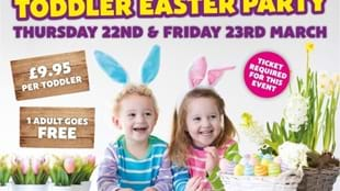 Toddler Easter Party at Thornton Hall Farm