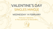 Valentine's Day Singles Mingle