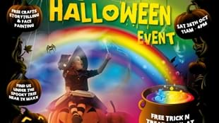 The Ridings Halloween Event in partnership with The Den.