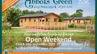 Abbots Green Open Weekend