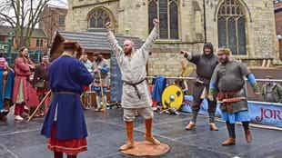 Annual Strongest Viking Competition at JORVIK Viking Festival
