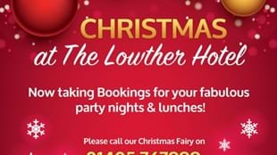 Christmas 2017 at The Lowther Hotel