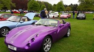 RESCHEDULED TO SUN 2nd AUG: SPORTS CARS IN THE PARK 2020